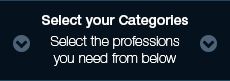 Select your Categories - Select the professions you need from below
