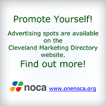 Promote Yourself! Advertising spots are available on the Cleveland Marketing Directory Website. Find out More!