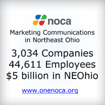 NOCA - Marketing Communications in Northeast Ohio. 3,034 Companies, 44,611 Employees, $5 Billion in NE Ohio